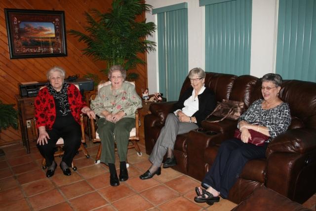 Ann, Mom, Shirley and Lenda
