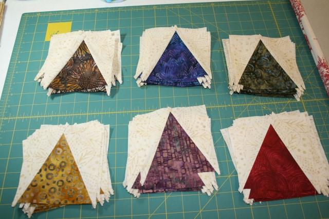 batik v-blocks all stitched