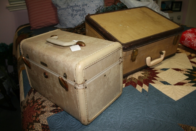 "my new ""old"" luggage"