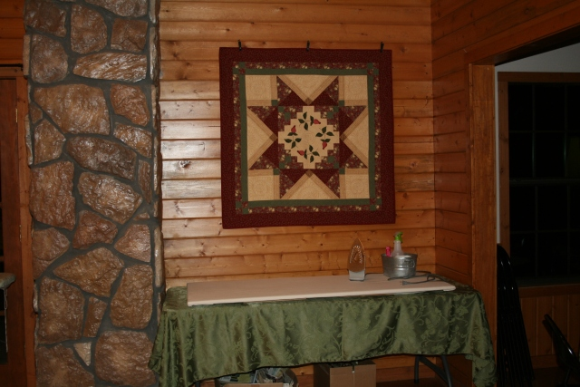 we had quilts everywhere