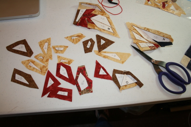 puzzle piecing  :-)