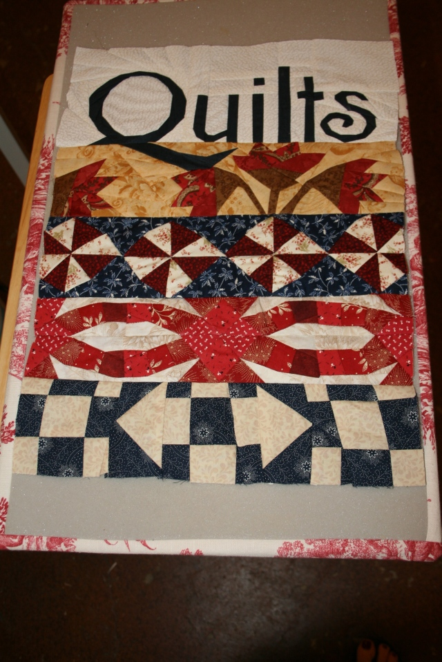 my quilts all pieced