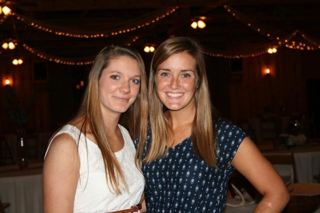 Katie and Joanna
