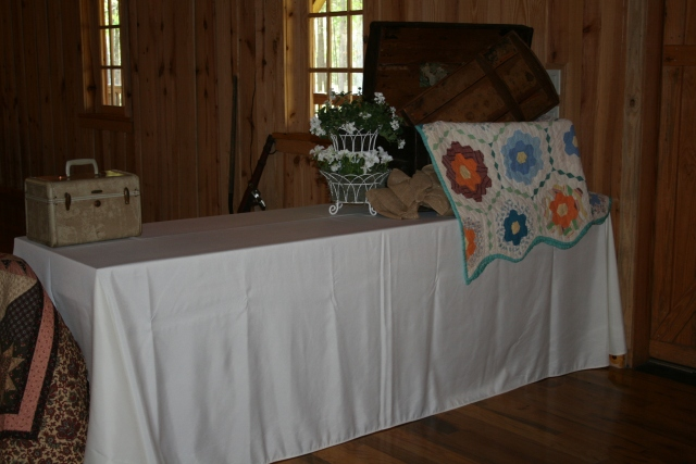 one of the gift tables