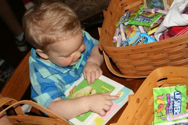 Wyatt loves books