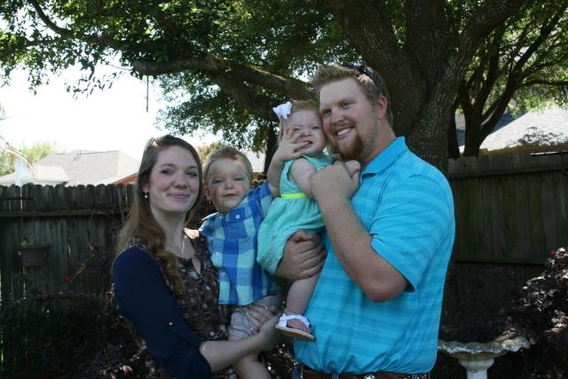 Katie, Wyatt, Kynlee and Joseph