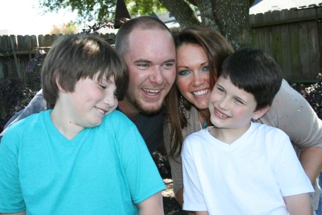 Jaiden, Josh, Angela and Dylan