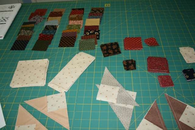 all cut up and ready to sew back together