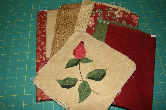 fabric for Windswept Roses
