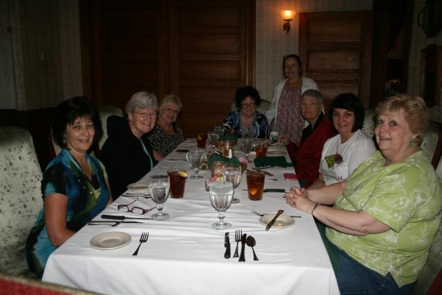 dinner at Woodbine Hotel