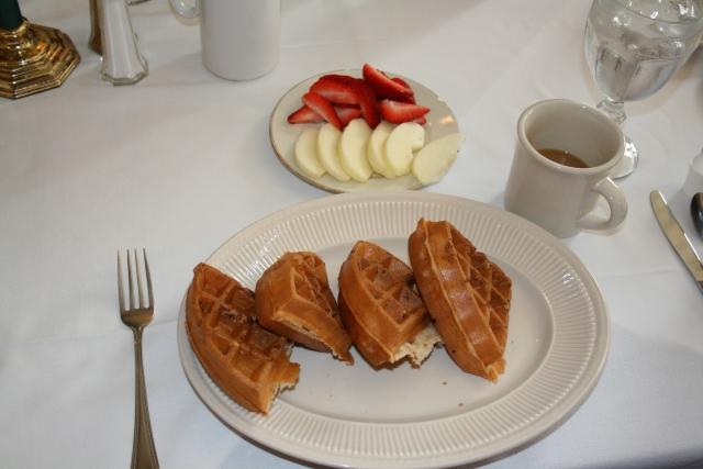 Sandy's waffles