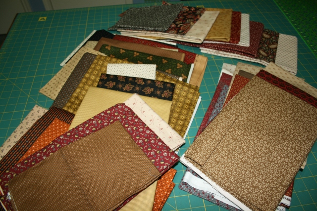 more fabrics to cut tomorrow