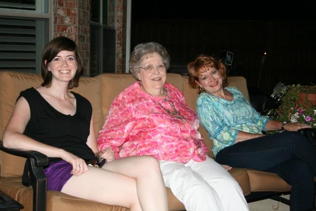 Rachal, Mom and myself