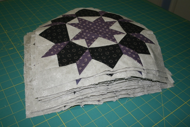 my stack of 30 blocks, that was a LOT of sewing