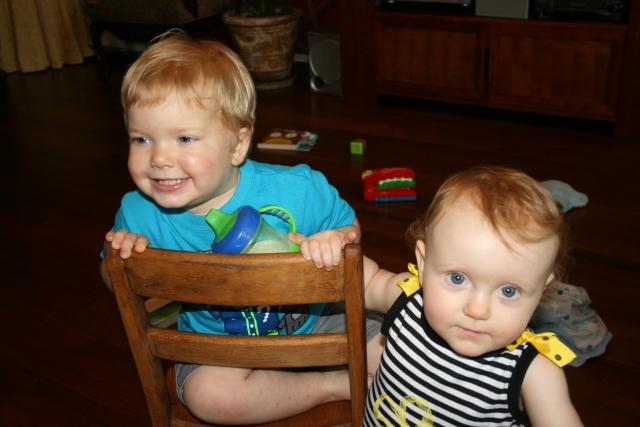 Wyatt and Adley
