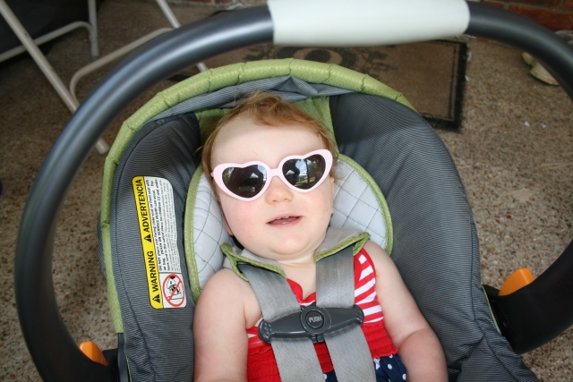 Adley likes her shades