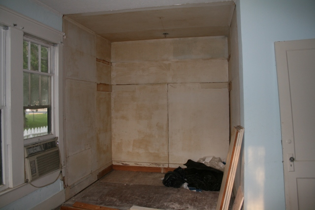 the former closet all clear