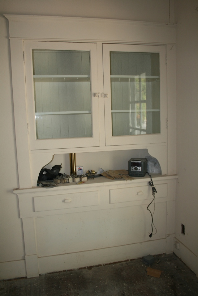 front view of the hutch