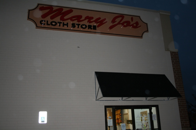 outside of Mary Jo's
