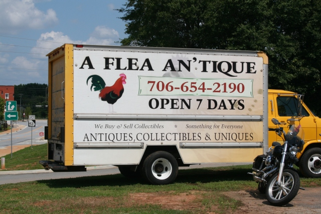 our side trip for antiques