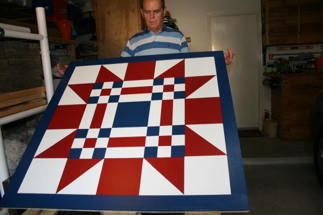 my quilt barn tile