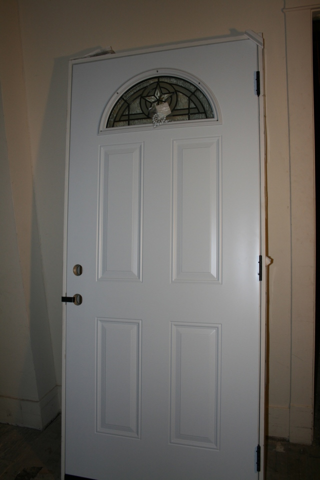 our newest back door