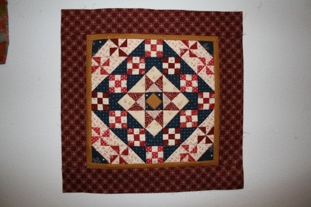 this is the mini quilt