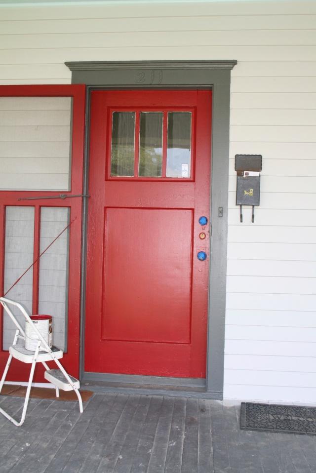 my red front door