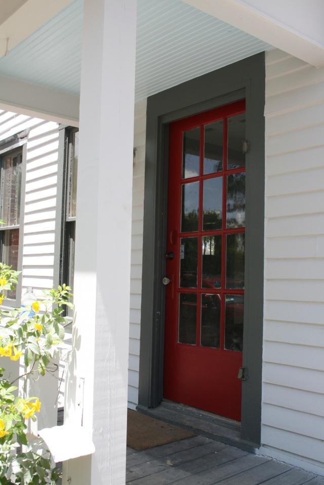 my red side door