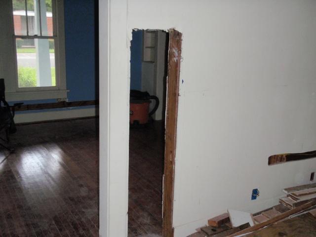 wall heater gone