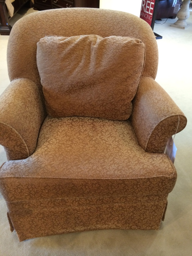 this was a bargain and I think it will look great with my other chairs!