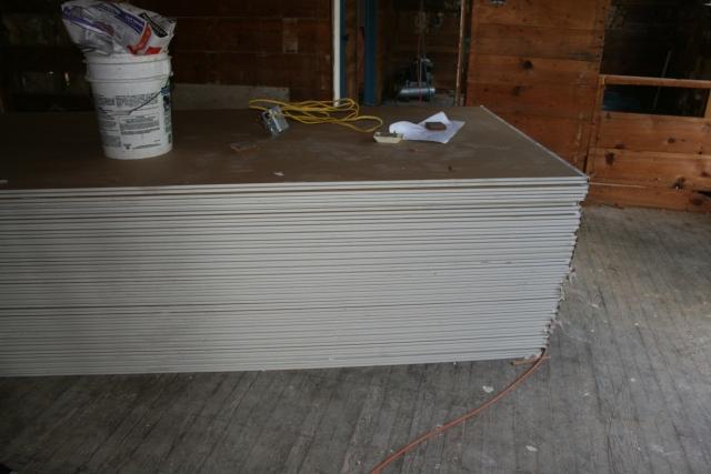 more sheetrock