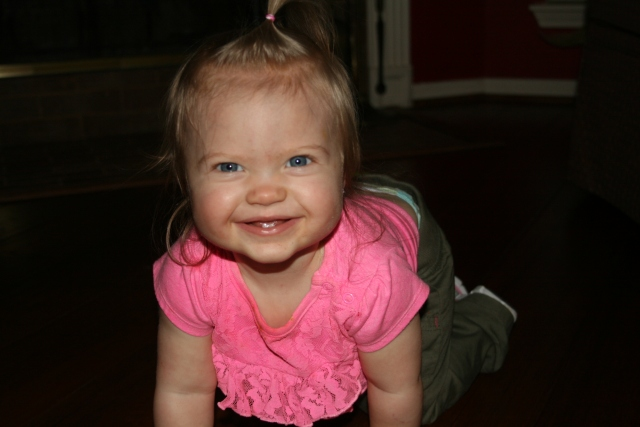 Kynlee all smiles