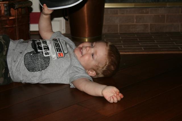 Wyatt likes to play