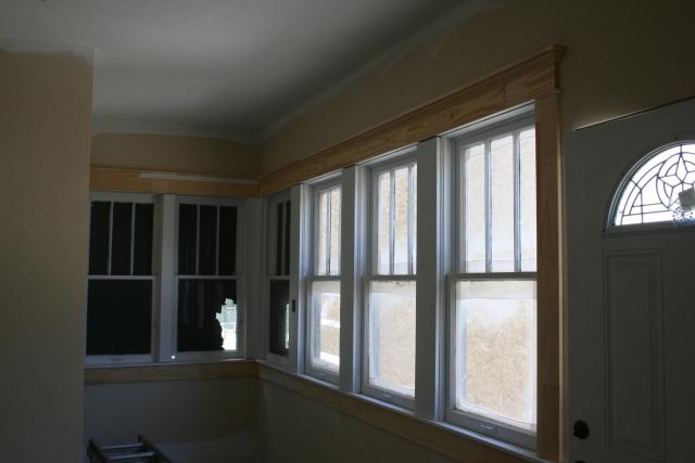back porch trim