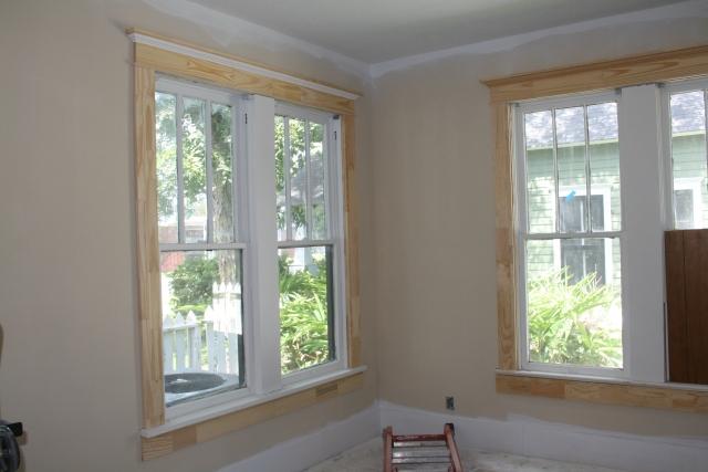 master bedroom trim