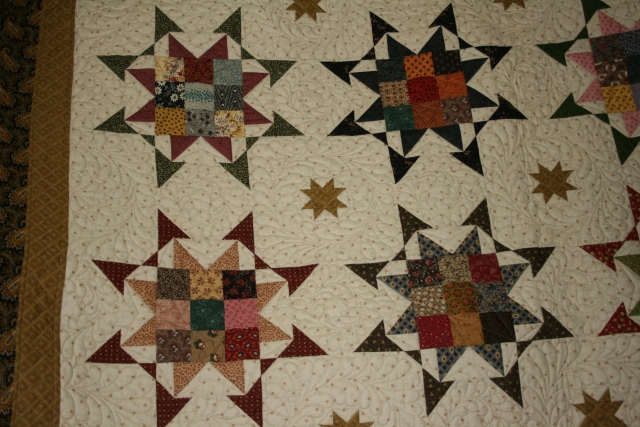 a closer look at the quilting