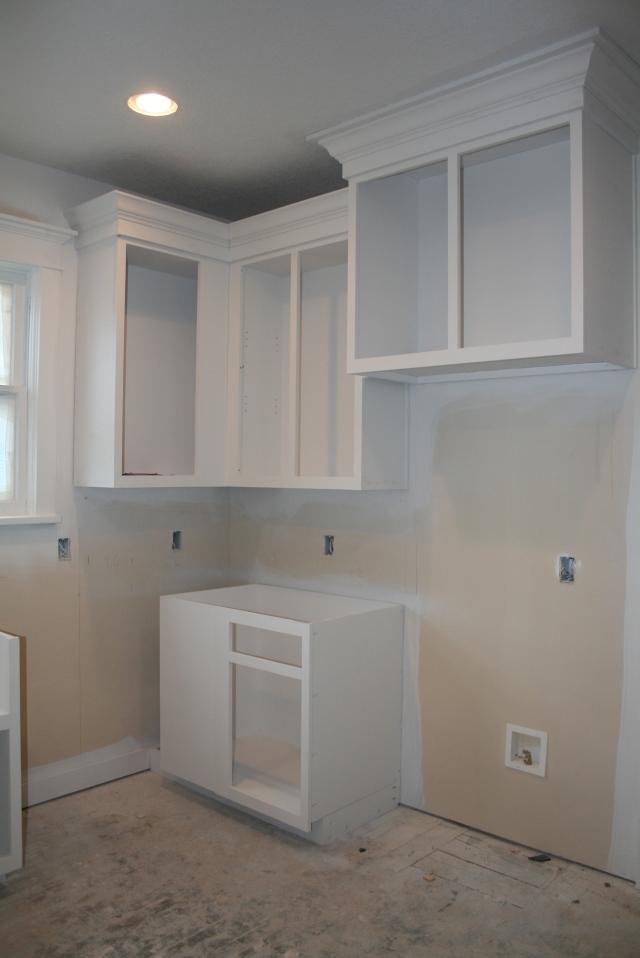 more white cabinets