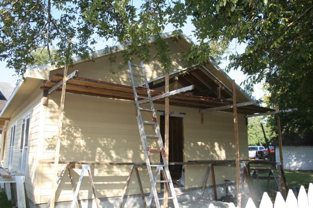 new back porch