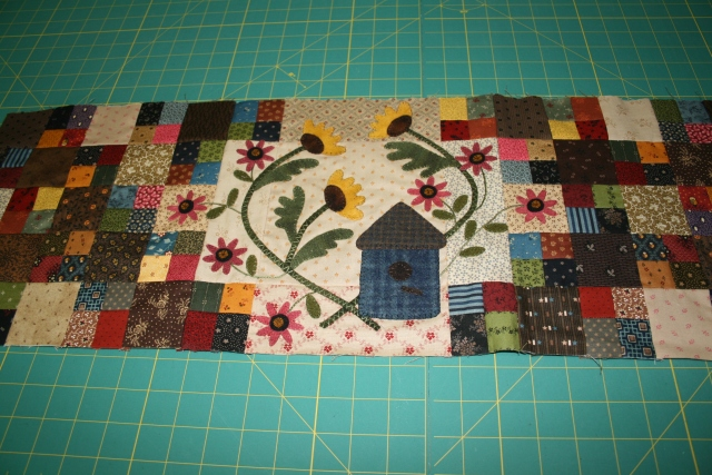 block 2 of Sunflower Gatherings