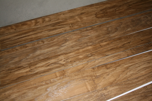see what the flooring looks like