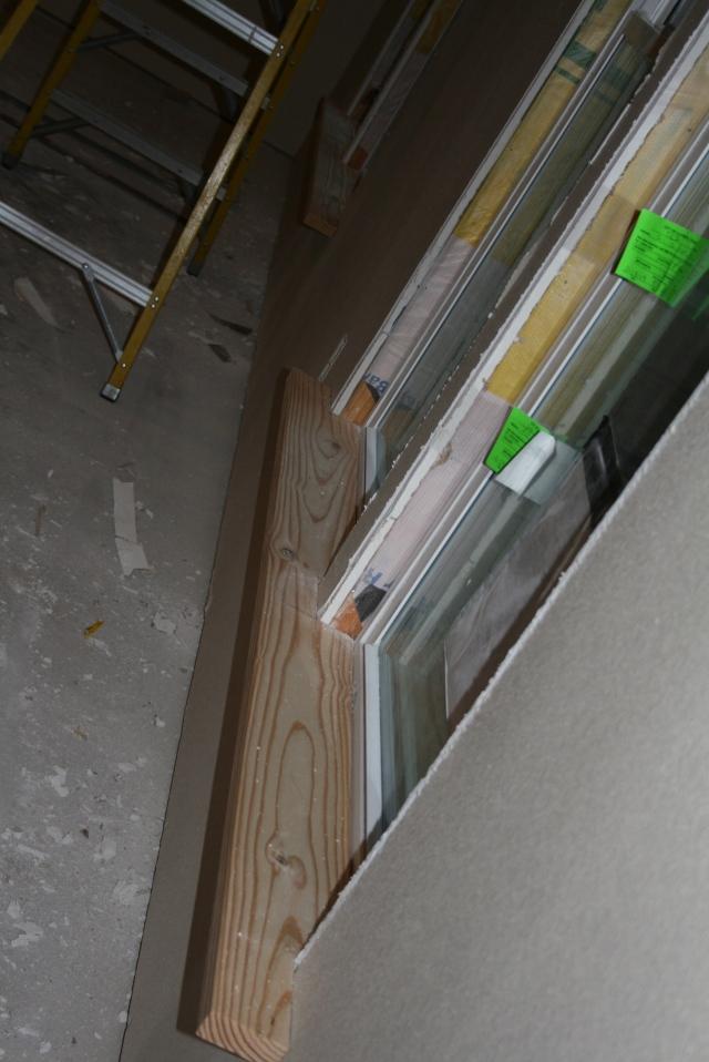 trim in the windows