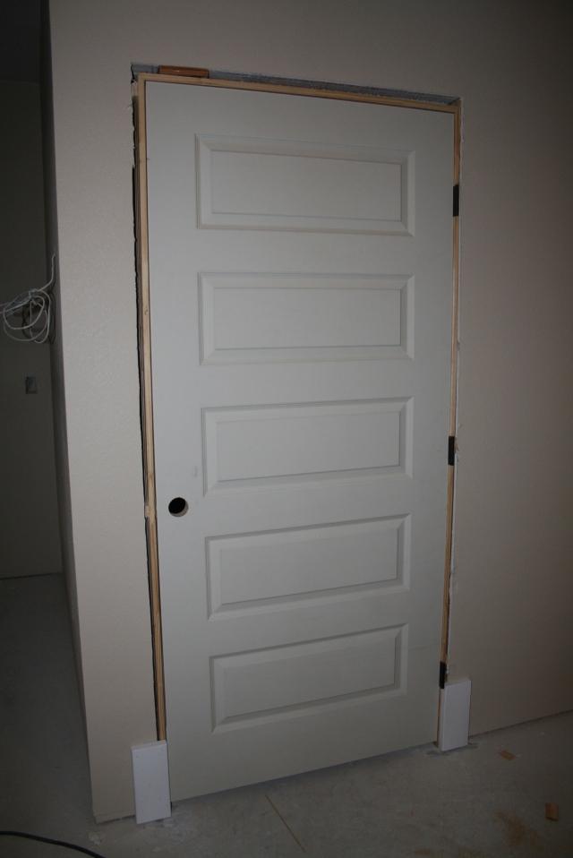 door for the bathroom
