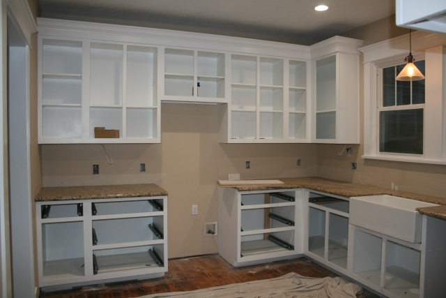 shelves for the cabinets
