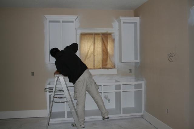craft room kitchenette
