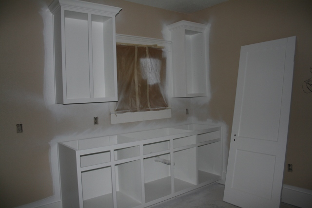 kitchenette painted