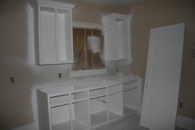 kitchenette painted