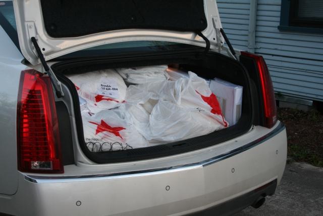 Cheryl's sleigh trunk