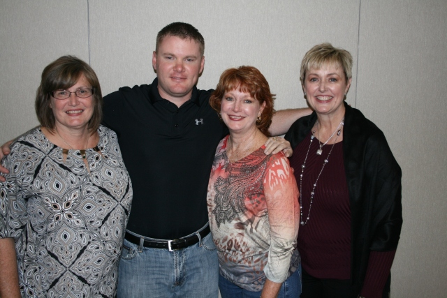 Pattie, Kyle, me and Penny