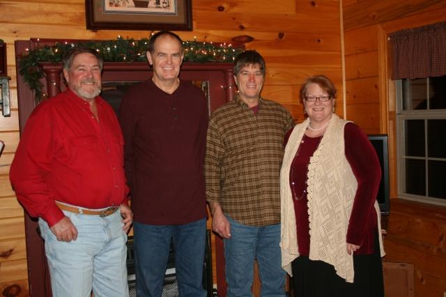 Gene, David, Ricky and Milly
